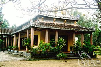 Một góc chùa Phước Lâm