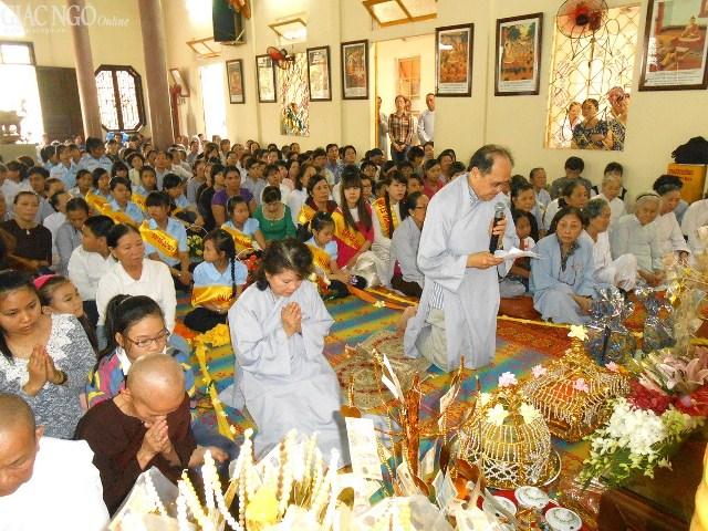 Phật tử tác trình duyên sự