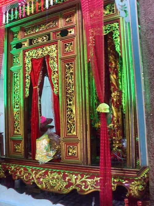 Long Đình tại chùa Tam Bửu