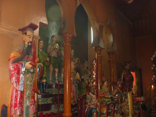 Chánh điện chùa Tây An
