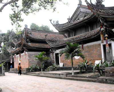 Một góc chùa Tây Phương Ảnh: Hoàng Thu Phố