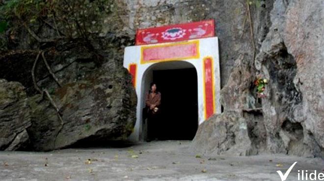 Cổng chùa Thạch Long
