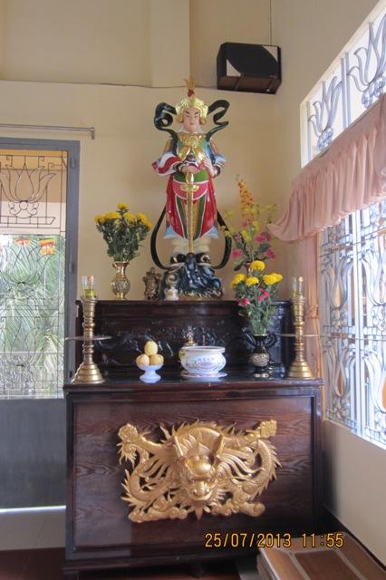 Một góc chùa