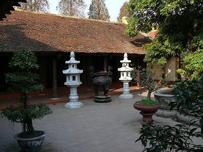 Mái chùa mang nét đặc trưng Việt Nam