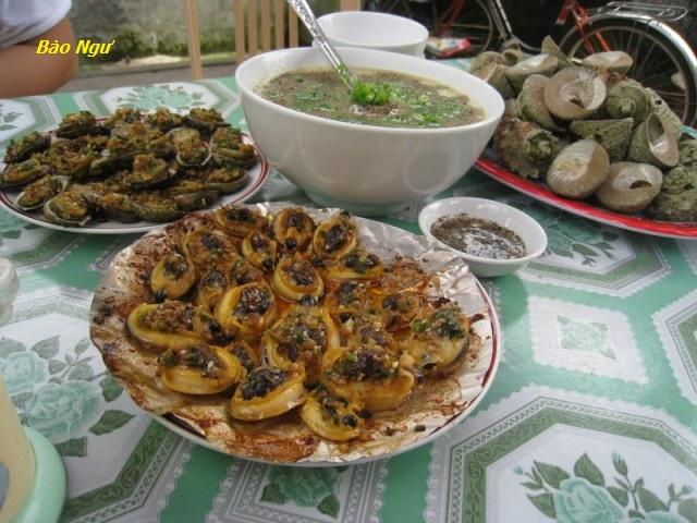 Món ngon Cù Lao Chàm: Bào ngư.