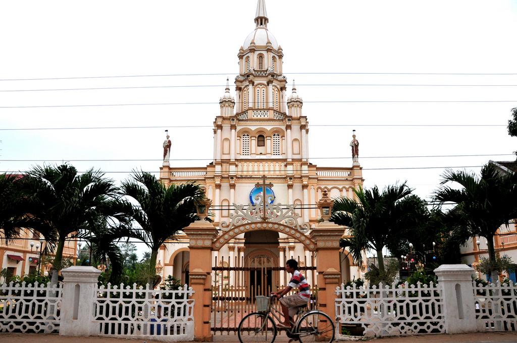 Nhà thờ Cù Lao Giêng.