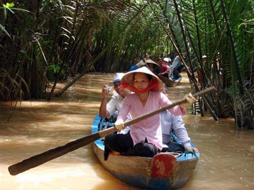 Du lịch sinh thái Cù Lao Thới Sơn ngày càng được du khách lựa chọn.