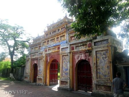 Thọ Chỉ Môn (cổng chính phía nam)