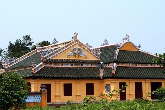 Chính điện cung Trường Sanh vừa được trùng tu