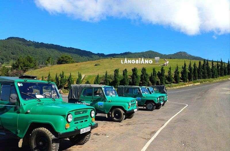 Khu du lịch núi LangBiang.