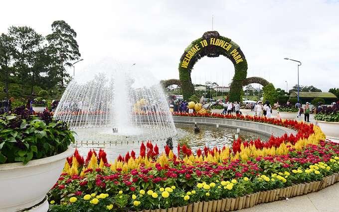 Vườn Hoa Tp Đà Lạt.