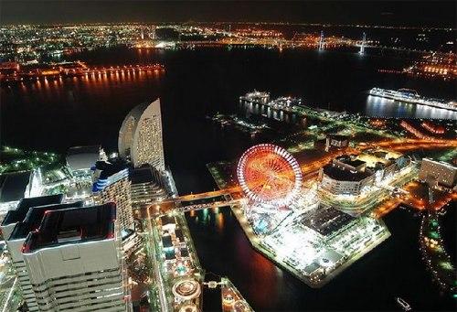Thành phố nhìn từ trên cao.
