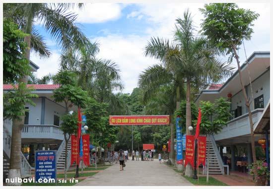 Khu nhà nghỉ dưỡng dành cho du khách