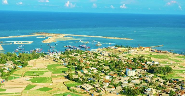 Toàn cảnh đảo Lý Sơn