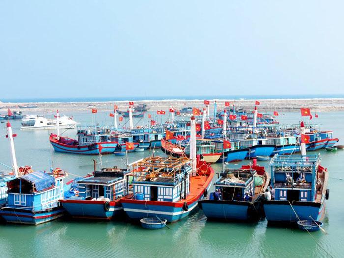 Bến cảng Sa Kỳ.
