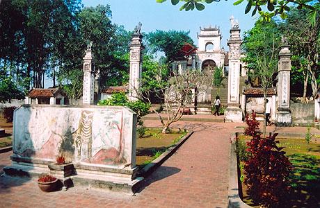 Đền thờ gắn liền với sự tích làng Cao Aí