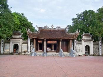 Tam quan đền Đô - Ngũ Long Môn