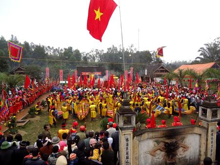 Lễ hội Đền Qủa Sơn