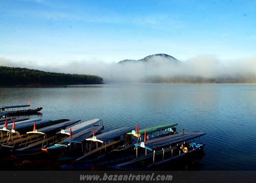 Bến thuyền hồ Tuyền Lâm Đà Lạt