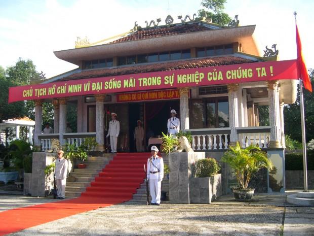 Khu đền thờ Bác Hồ
