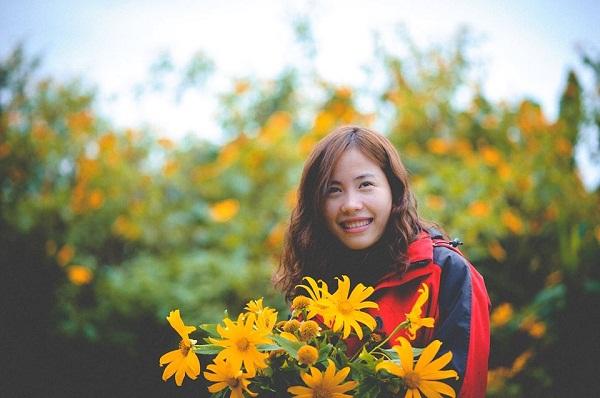 Nhiều bạn trẻ thường đến Điện Biên vào những mùa hoa
