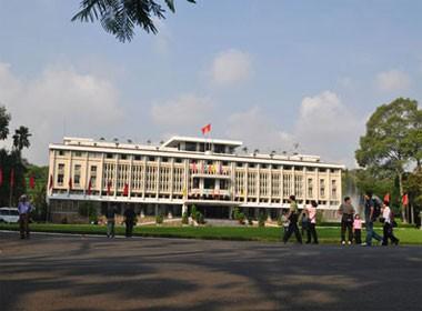 Toàn cảnh Dinh Độc Lập Sài Gòn