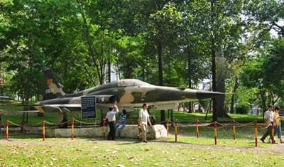 Chiếc máy bay chiến đấu F5E do Mỹ sản xuất