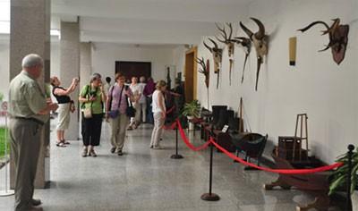 Du khách thăm quan bảo tàng Dinh độc lập