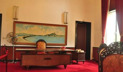 Phòng làm việc của tổng thống Nguyễn Văn Thiệu