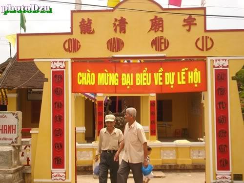 đại lễ kỳ yên đình Long Thanh Vĩnh Long