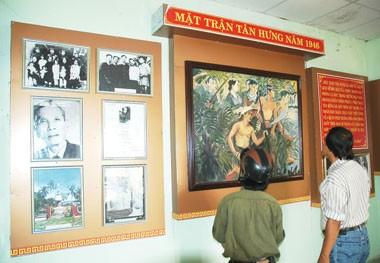 Đình Tân Hưng là nơi sinh hoạt văn hóa, giáo dục truyền thống lịch sử dân tộc và cách mạng cho thế hệ trẻ