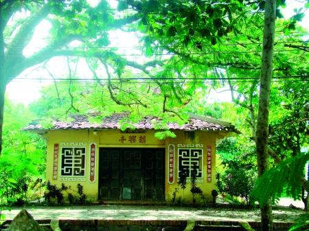 Khu di tích Đình Tân Hưng, tọa lạc tại xã Lý Văn Lâm, TP Cà Mau.