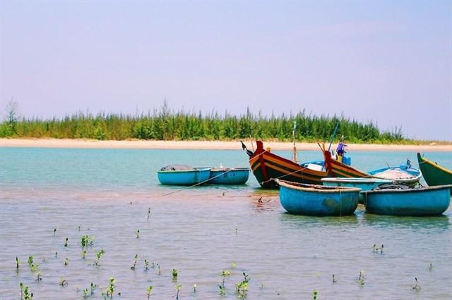 Bạn có thể trải nghiệm cuôc sống làngc hài ở biển Suối Ồ