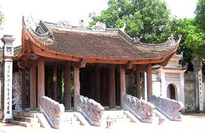 ngũ long môn ở đền Đô