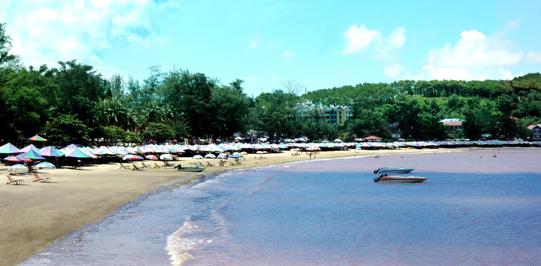 Hàng năm, Đồ Sơn thu hút đông đảo khách du lịch trong và ngoài nước