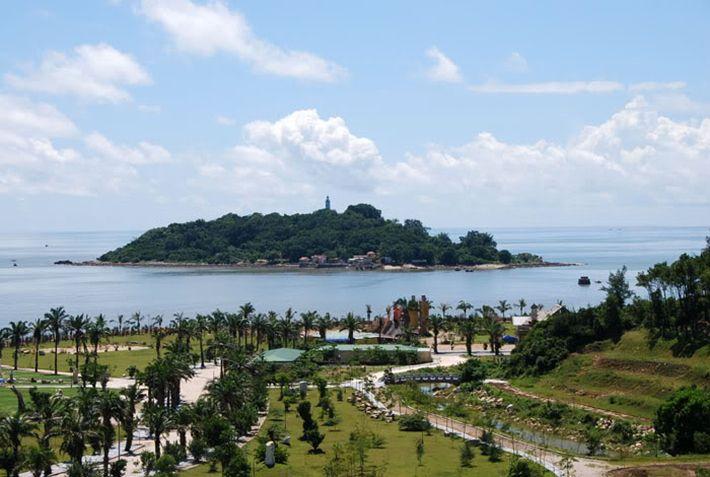 Toàn cảnh khu du lịch Đồ Sơn nhìn ra biển