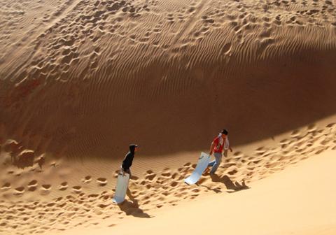 Đồi Cát Mũi Né là một trong những bãi cát trải dài nhiều km, lan rộng ở một diện tích không nhất định với tổng thể lớn