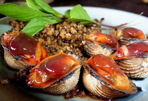 Món ngon Đồng Hới, Quảng Bình: Sò Huyết sông Roòn.