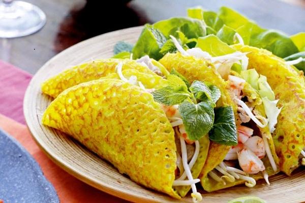 Món ngon Đồng Hới, Quảng Bình: Bánh xèo gạo lứt Quảng Hòa,