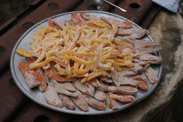 Món ngon Đồng Hới, Quảng Bình: Khoai dẻo.