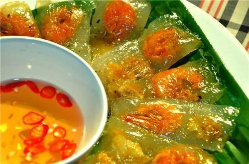 Món ngon Đồng Hới, Quảng Bình: Bánh bột lọc.