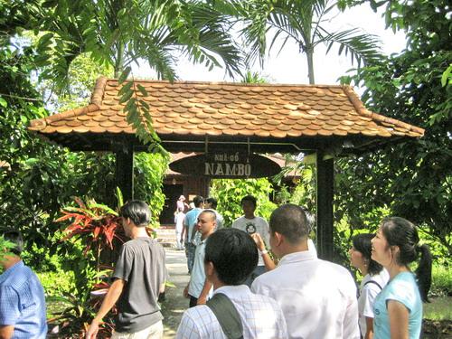 Miệt vườn Cần Thơ - Điểm du lịch Cần Thơ hấp dẫn.