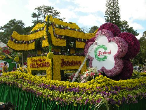 Khuê Văn Các hoa