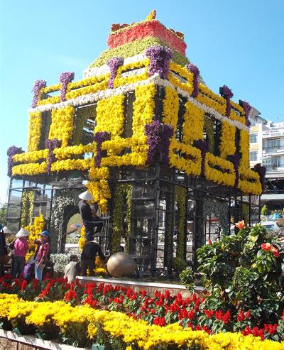 Tháp rùa Hoa