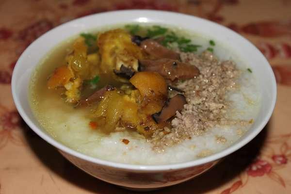 Món cháo ấu tẩu đặc trưng của Hà Giang.