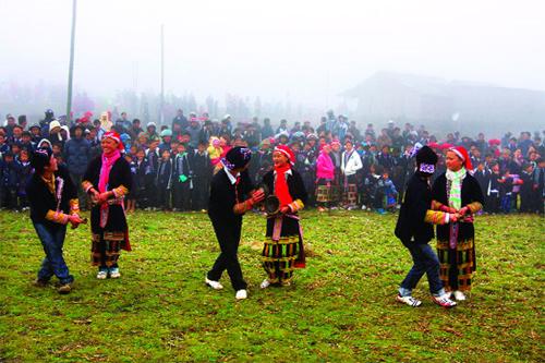 Tết là mùa lễ hội lớn nhất trong năm ở Hà Giang.