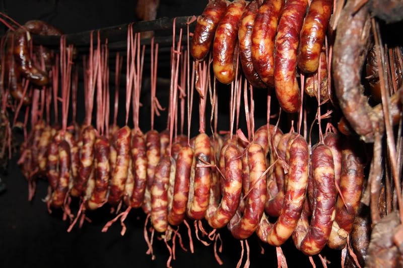 Lạp xưởng gác bếp - Đặc sản Hà Giang