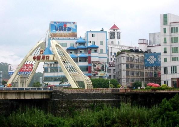 Cửa khẩu Hà Khẩu, cây cầu nối liền hai bờ VN - TQ