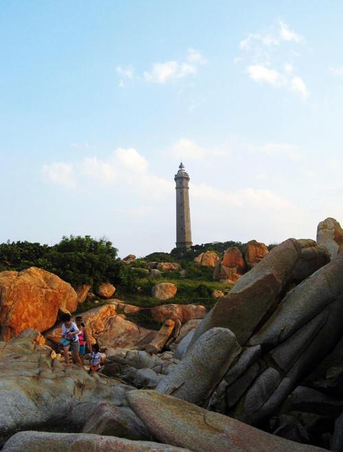 Ngọn hải đăng cổ nhất Đông Nam Á ở Bình Thuận