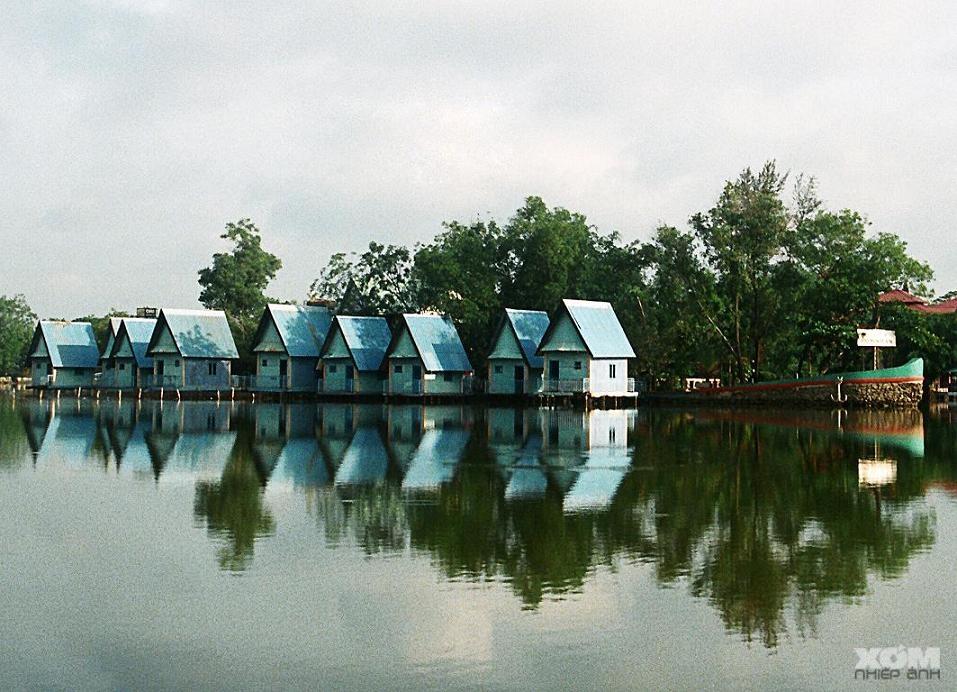 Khu nghỉ dưỡng hòa hợp với thiên nhiên
